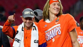Dabo Swinney Compares Trevor Lawrence To Steph Curry, Believes Lawrence Can Be An 'International Superstar'