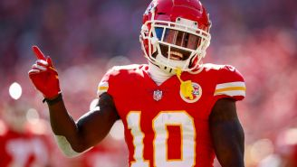 Tyreek Hill Sends Tweet That Makes No Sense In Response To Mina Kimes Questioning His Fit Outside Chiefs' System