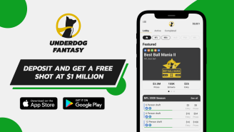 Looking For A New Daily Fantasy Sports App? Underdog Sports Has A $25 Deposit Bonus + FREE Shot At $1M