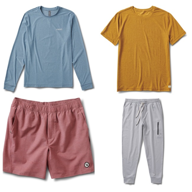 Vuori new men's gear