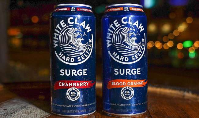 white claw surge hard seltzer review