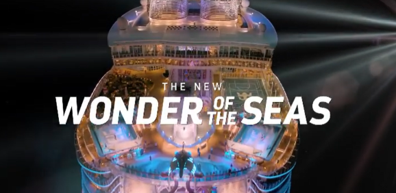 The ship class that redefined cruising just got bolder. This is Royal Caribbean Wonder of the Seas, sailing from Shanghai, March 2022 will be the world's biggest cruise ship.
