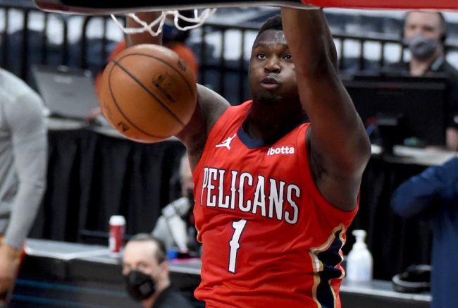 NBA fans laugh at the report from ESPN's Adrian Wojnarowski saying Zion Williamson to the New York Knicks is 'something to watch'