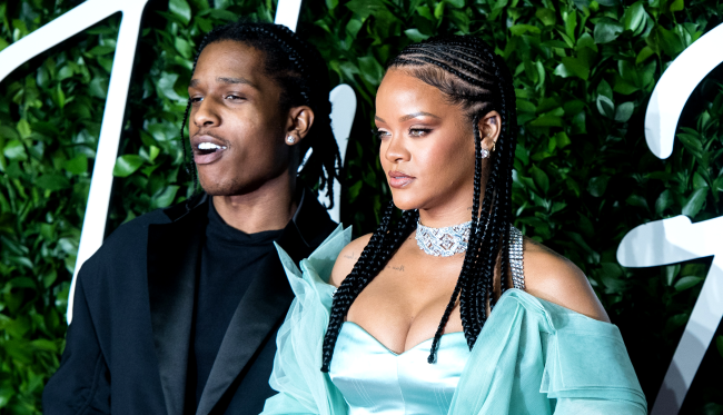 ASAP Rocky Confirms Romantic Relationship With Rihanna Shes The One
