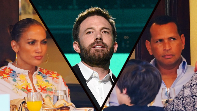 Alex Rodriguez Lunches With JLos Friend Wont Talk About Ben Affleck