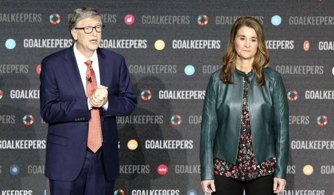 Bill Gates Gives Melinda Stocks Translator Denies Causing Split