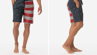 These American Flag Board Shorts Are All I'm Wearing This Summer