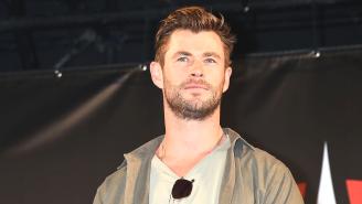 Chris Hemsworth Is Getting Trolled On Instagram For 'Skipping Leg Day'