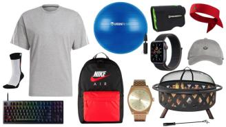 Daily Deals: Fire Pits, Keyboards, Exercise Balls, Nike Sale And More!