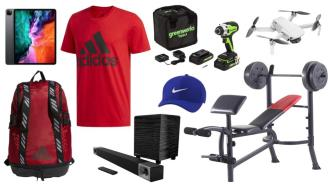 Daily Deals: iPads, Quadcopters, Weight Benches, adidas Sale And More!
