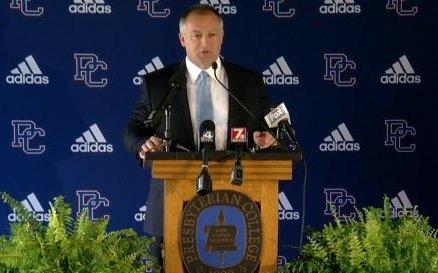 Presbyterian College Football Kevin Kelley