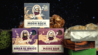 Dr. Squatch Launches 'Galaxy Bundle' Of Trippy Space-Themed Soaps