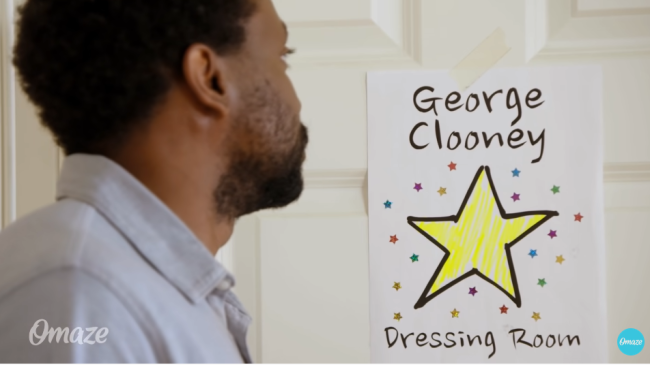 George Clooney Is Worst Roommate Brad Pitt Fan In Charity Video