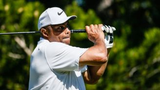 Charles Barkley Is Absolutely Striping His Tee Shots After Fixing His Horrendous Golf Swing