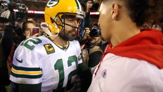 Aaron Rodgers Would Reportedly 'Happily Go To Denver' Because 'He Would Love To Personally Beat Patrick Mahomes' Every Year