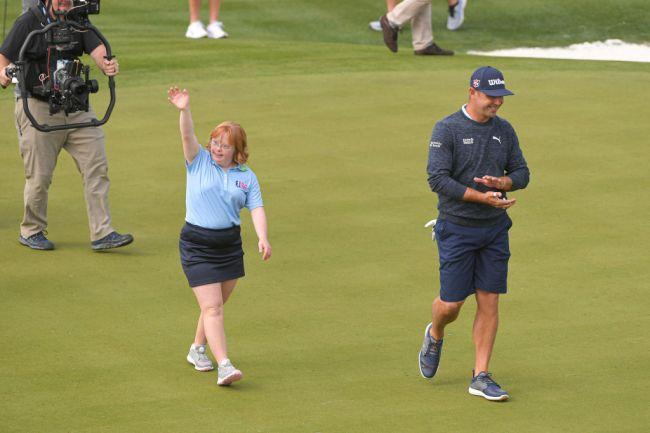 Amy Bockerstette NCAA Golf Down Syndrome Phoenix Open