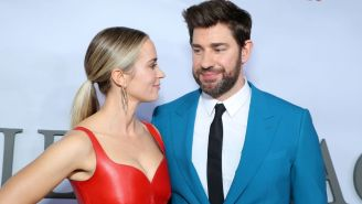 Emily Blunt And John Krasinski Aren't Telling Their Kids About Their Fame, Which Must Be Hard When You're Worth $150 Million