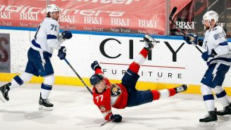 All Hell Broke Loose Between The Lightning And The Panthers During A Violent Line Brawl That Foreshadows Playoff Series