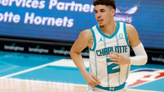19-Year-Old LaMelo Ball Rumored To Be Dating 32-Year-Old IG Model Ana Montana After Internet Detectives Noticed She Took Picture At His Apartment