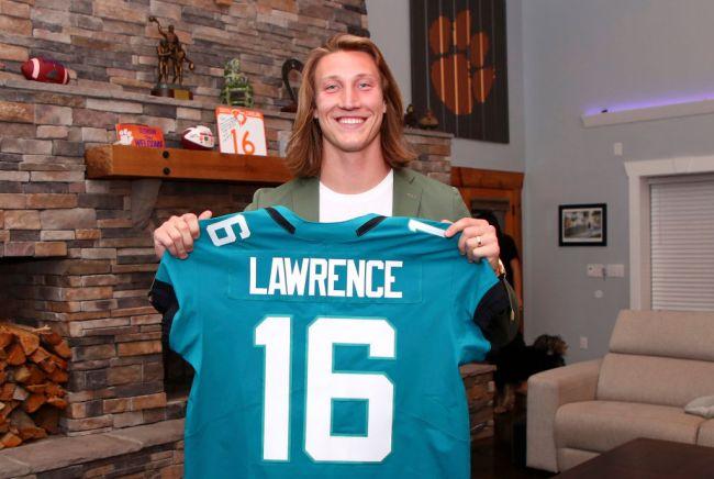 Trevor Lawrence Jacksonville Jaguars NFL Draft