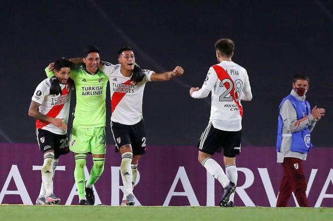 Enzo Pérez River Plate Copa Libertadores