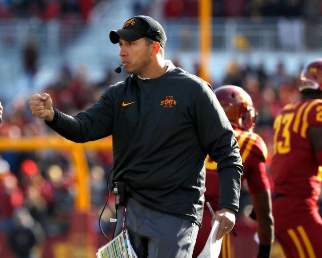 Iowa State Head Coach Matt Campbell