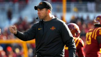 Iowa State Head Coach Matt Campbell Turned Down A Ridiculous Amount Of Money To NOT Coach The Detroit Lions