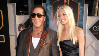 'Iron Man 2' Star Mickey Rourke Takes A Steaming Dump On Acting In Marvel Movies