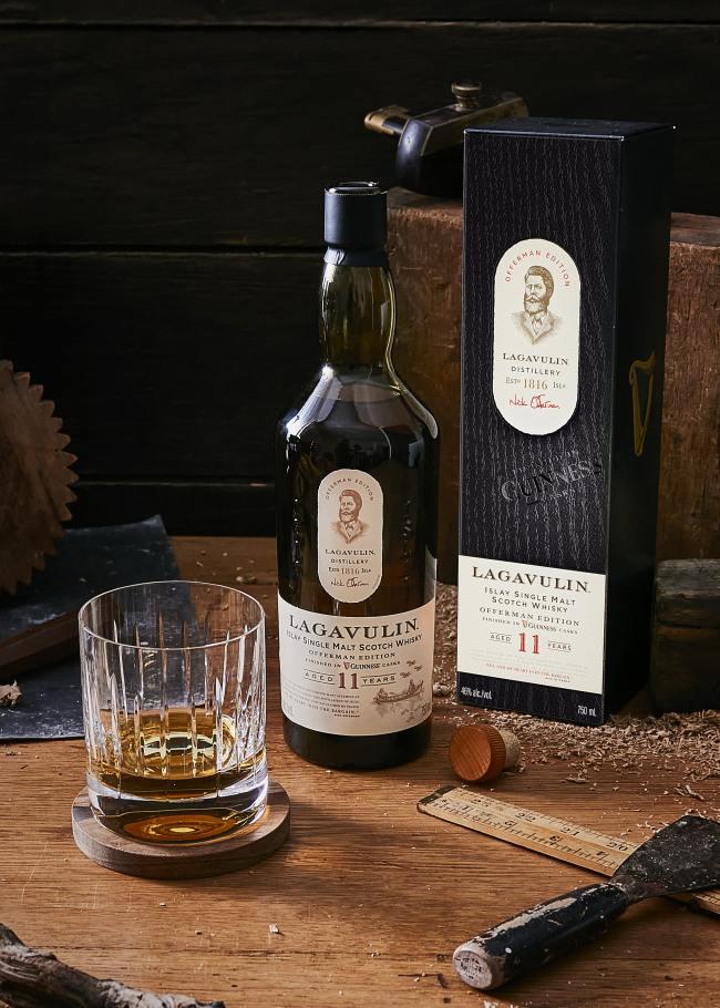 nick offerman lagavulin guinness scotch