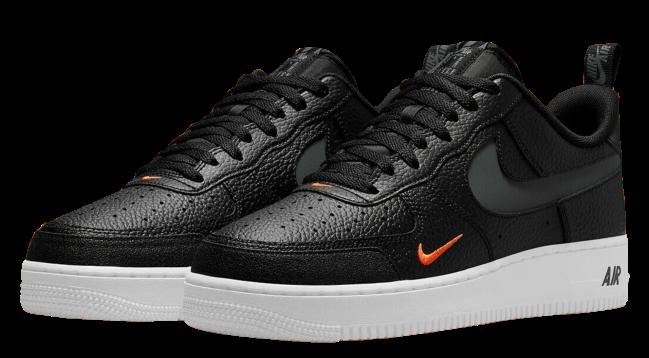 Nike Air Force 1 LV8 Black Orange