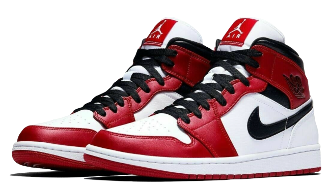 Nike Air Jordan 1 Mid Chicago 2020