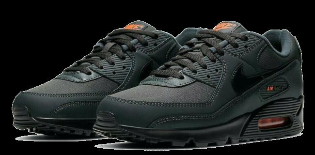 Nike Air Max 90 Premium Iron Grey Orange