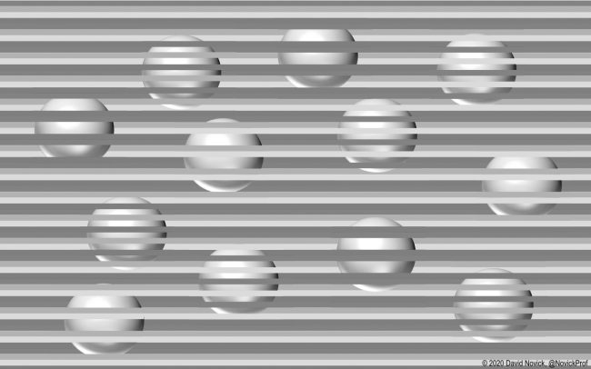 Optical Illusion Tricks Your Brain Into Seeing Different Colors How It Works gray