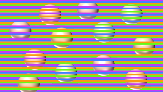 Wild Optical Illusion Tricks Your Brain Into Seeing Colors That Aren't Actually There