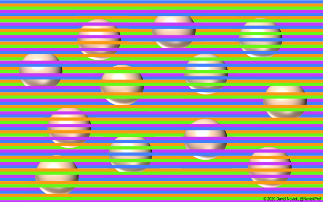 Optical Illusion Tricks Your Brain Into Seeing Different Colors How It Works