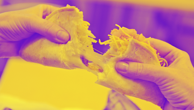 Taco Bell superfan all Quesalupa diet