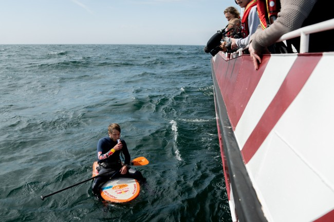Viking Challenge 3.0 Casper Steinfath Hydrofoil Kegatt Strait