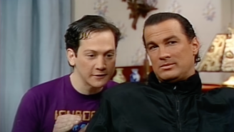 Try As He May, Elon Musk Cannot Be Less Funny Than Steven Seagal