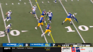 South Dakota State Ran The Most Beautifully-Executed Double Pass Trick Play Touchdown In Its FCS Semifinal Game