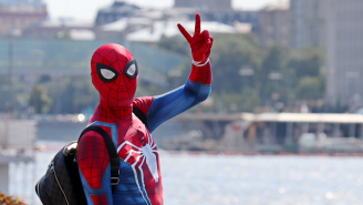 Spider-Man Breaks Up Fight On New York City Street: 'Spider-Man Just Saved The Day!'