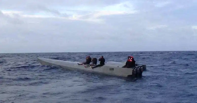 US Customs Agents Seize 75 Million Worth Of Cocaine From Submarine