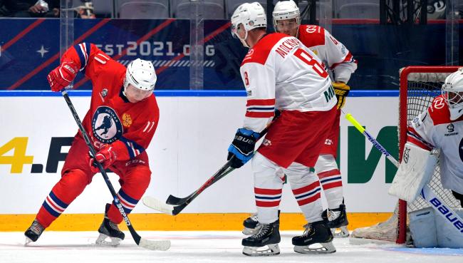 Vladimir Putin Dominates Scores 8 Goals In All-Star Hockey Game