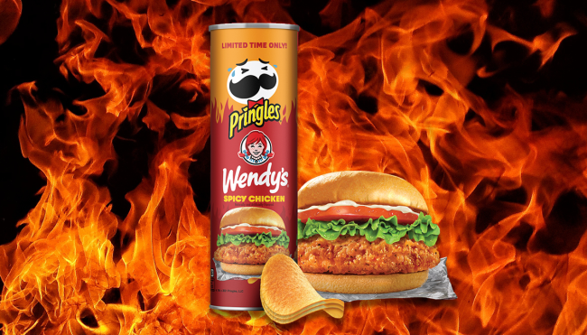 Wendy's Spicy Chicken Sandwich Pringles review