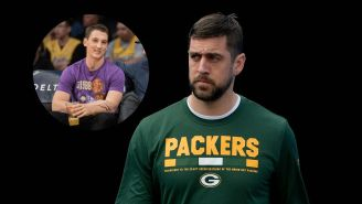 Miles Teller Having A Courtside Seat To The Aaron Rodgers/Packers Divorce Is The Low-Key The Funniest Dynamic Of The Whole Thing