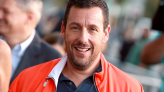 Adam Sandler's Outrageous Pickup Basketball Outfit Is Straight Out Of A Middle School Gym Class In 2006