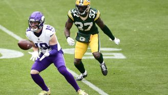 Adam Thielen Tries To Explain The Context Behind His Slanderous Comments About Lambeau Field