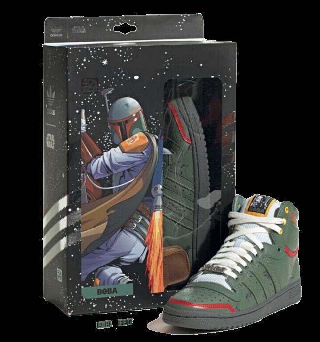 adidas Top Ten Hi Star Wars Boba Fett