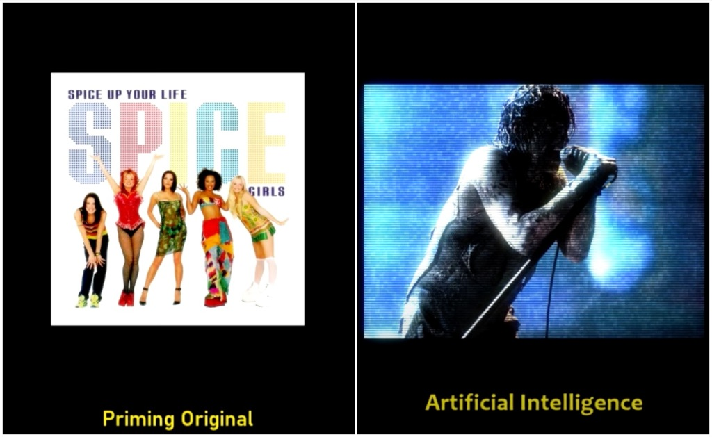 Artificial Intelligence Nine Inch Nails Spice Girls Wannabe song