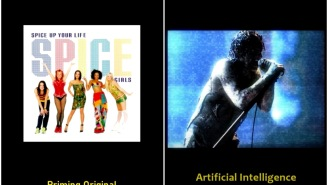 Artificial Intelligence Converts The Spice Girls' 'Wannabe' Into A Brilliant Nine Inch Nails Song