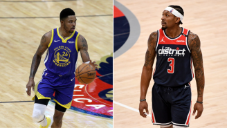 Wizards' Bradley Beal And His Wife Rip Warriors' Kent Bazemore To Shreds For Mocking Beal's Injury